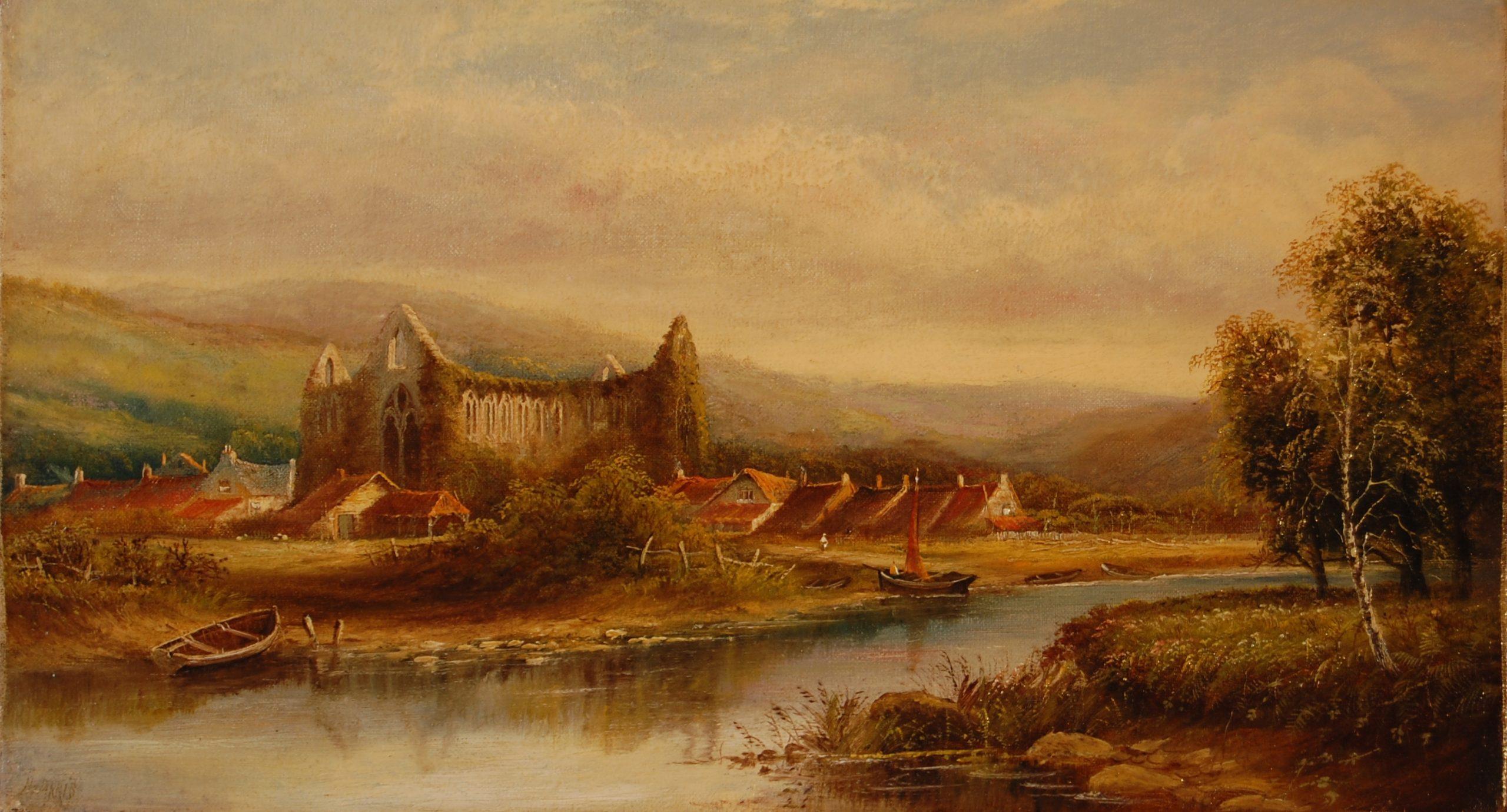 """Tintern Abbey"" by Henry Harris"