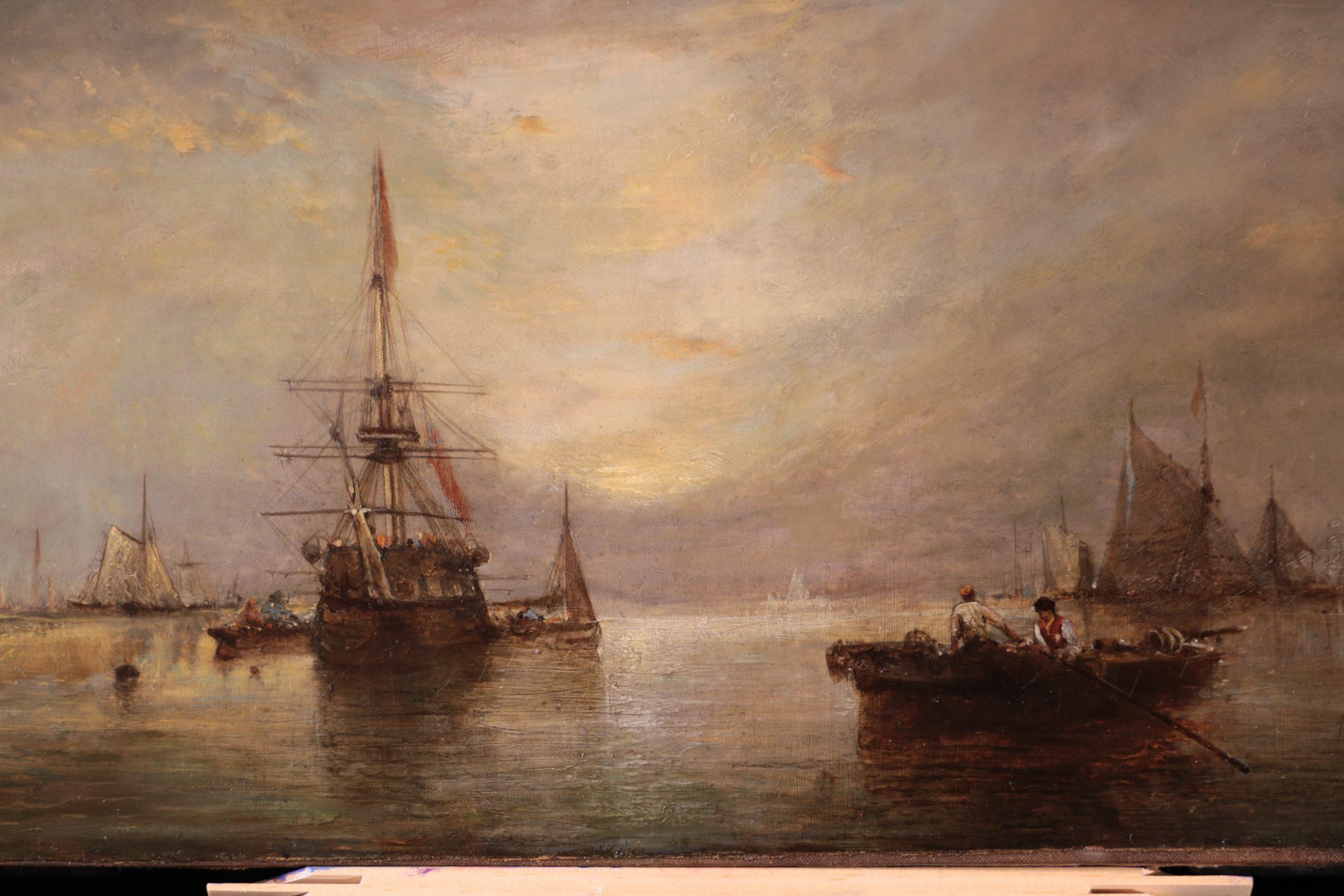 """James Webb - """"Shipping at Dawn"""">SOLD"""